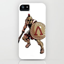 Hoplite iPhone Case