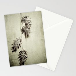 oat grass Stationery Cards