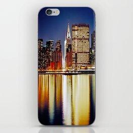 Romantic NYC Night / BIg Apple / UN  iPhone Skin