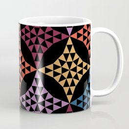 Triangle mosaic Coffee Mug