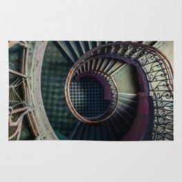Art Deco spiral staircse Rug