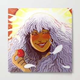 Griffith's Smile Metal Print