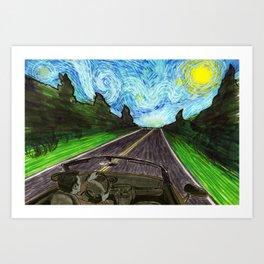 Scenic Drive Art Print