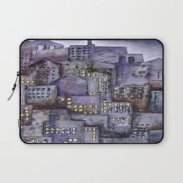 City (from original acrylic painting) Laptop Sleeve