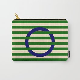 GEOMETRY BLUE&GREEN III Carry-All Pouch