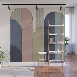 Abstract Arches II Wall Mural