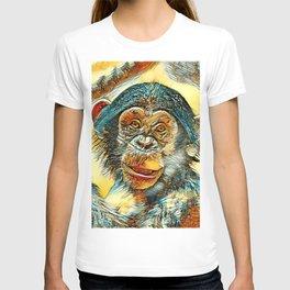 AnimalArt_Chimpanzee_20170602_by_JAMColorsSpecial T-shirt