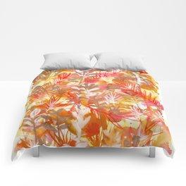 Leaves Texture 01 Comforters