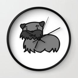 Scotish Terrier Pup Wall Clock