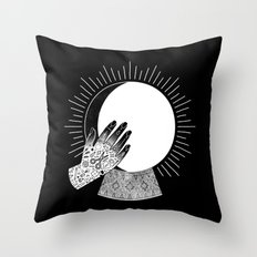 Waxing Gibbous Throw Pillow