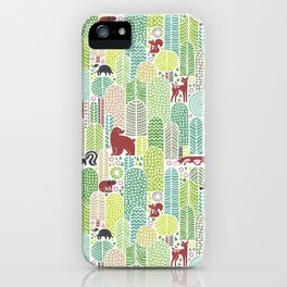 Welcome to the forest! iPhone Case