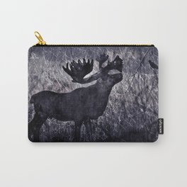 In the Woodlands, Far Away (dark tones version) Carry-All Pouch