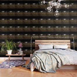 ANIMAL PRINT BLACK AND BROWN Wallpaper