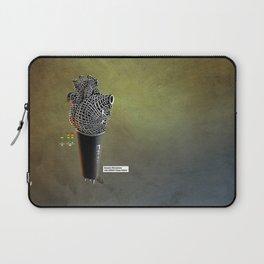 CRZN Dynamic Microphone - 003 Laptop Sleeve