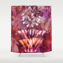 Lampshade Flowerpot Shower Curtain