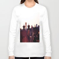 religion Long Sleeve T-shirts featuring Cleveland Religion by Toni Tylicki