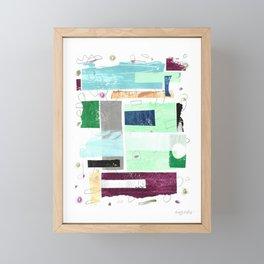 Above the Weather I Framed Mini Art Print