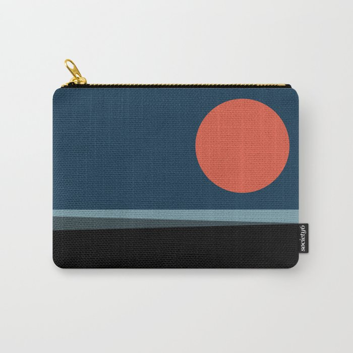 Super Moon over the Sea Carry-All Pouch