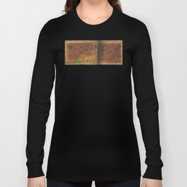Deer Sheltering in the Storm Long Sleeve T-shirt