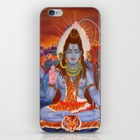 shiva iPhone & iPod Skins featuring Shiva by Antonimo-discipulosinmaestro