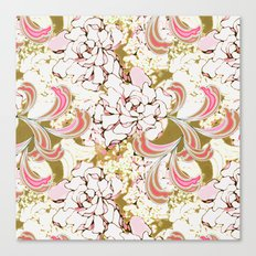 Gardenia Daydream Canvas Print