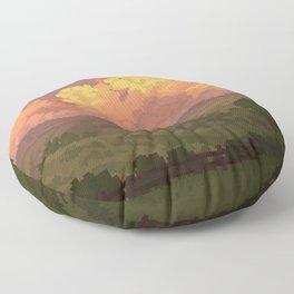 Peachy Floor Pillow