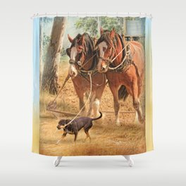 If You Want The Job Done Shower Curtain