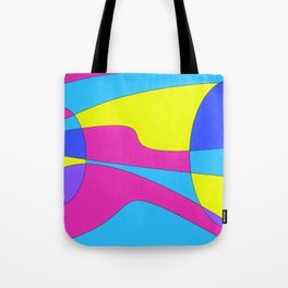 Colors in Sound Neon Tote Bag