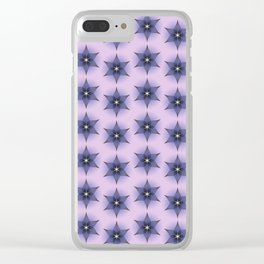 Abstract flower Clear iPhone Case