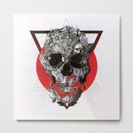 Skull Tale Metal Print