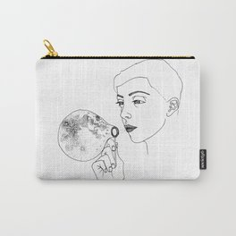 Moon bubble Carry-All Pouch