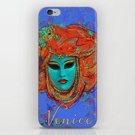 Blue Venice iPhone Skin