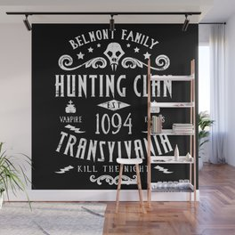 Geeky Gamer Chic Castlevania Inspired Belmont Family Hunting Clan Wall Mural