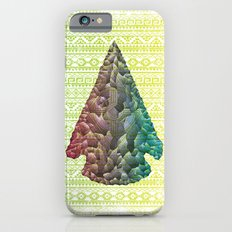 Neon Arrowhead iPhone 6s Slim Case