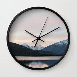 Wanaka Sunset Wall Clock
