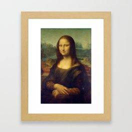 Mona Lisa - Leonardo da Vinci Framed Art Print