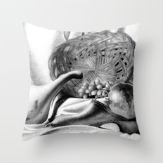 Objects in Motion Throw Pillow