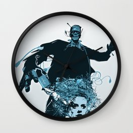The Frank Connection Wall Clock