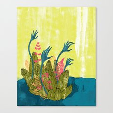 l'isola di calipso Canvas Print