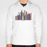 sydney Hoodies featuring Sydney skyline by bri.buckley