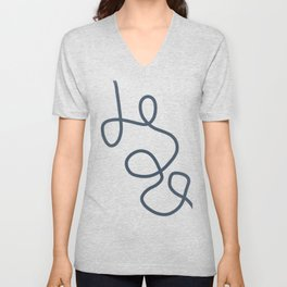 Are we or Are we not? Unisex V-Neck