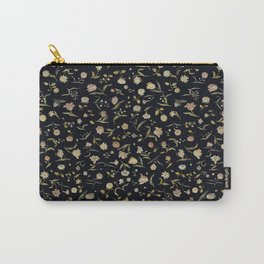 Vintage Tapestry II Floral Carry-All Pouch