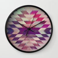prism Wall Clocks featuring Prism by Ashley Keeley