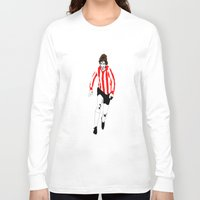 woody Long Sleeve T-shirts featuring Woody. by Steven Goddard
