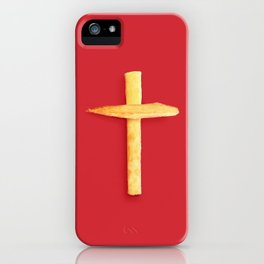 Fried Religion iPhone Case