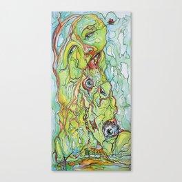 Eye Poisoning Canvas Print
