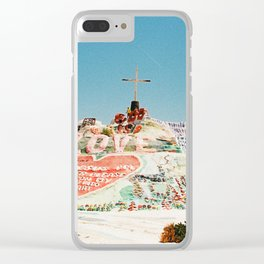 Salvation Mountain II Clear iPhone Case