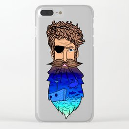 If This Beard Could Talk, Hair Series Clear iPhone Case