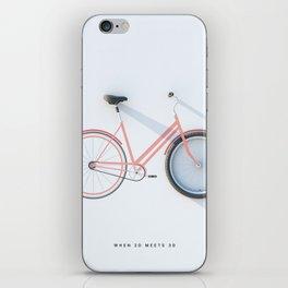 2d/3d iPhone Skin