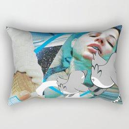 Deja Vu Again Rectangular Pillow
